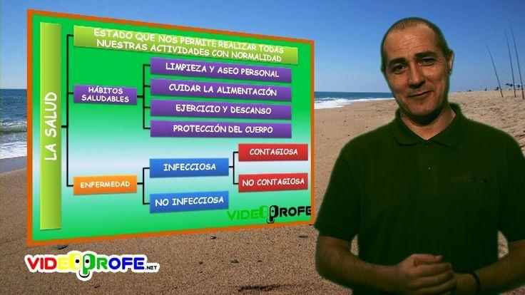 01. La salud. 6º Conocimiento del Medio. Videoprofe.net