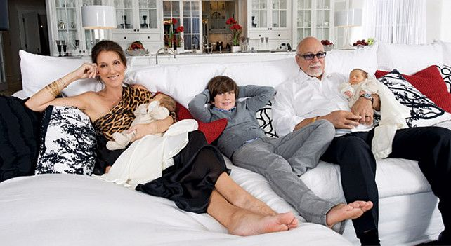 Celine Dion's Family #Celebrity
