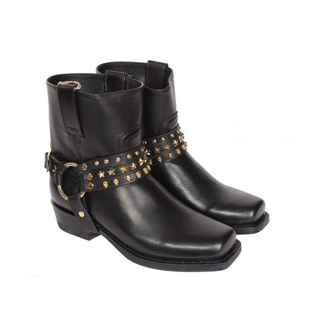 Sendra - Zwarte - Laarzen