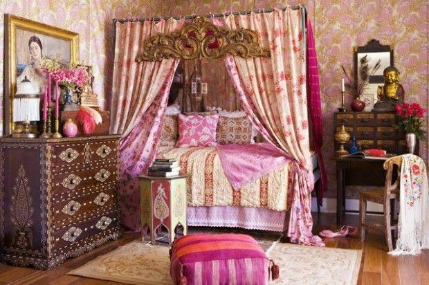 20 Dreamy Boho Chic Bedroom Style Tips   Pinkous