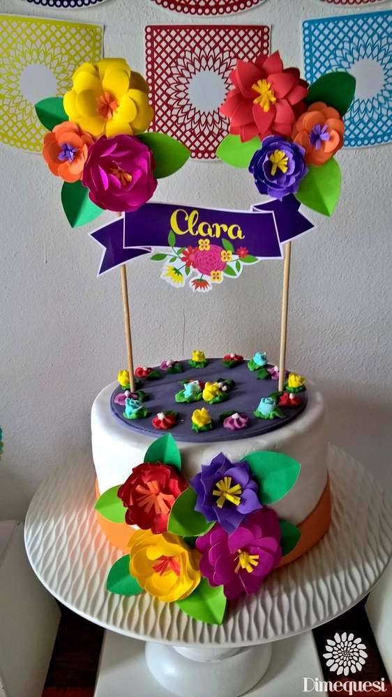 Fiesta / Mexican Birthday Party Ideas | Photo 7 of 27 | Catch My Party