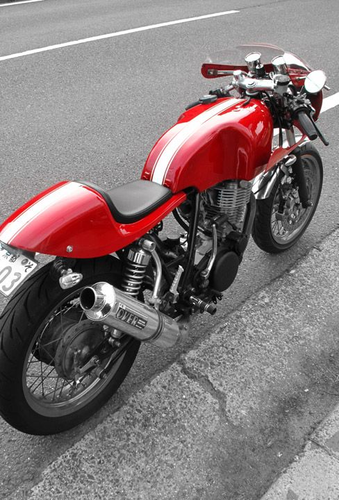 Wow! Garage Project Motorcycles - Presto of Japan do not sacrifice