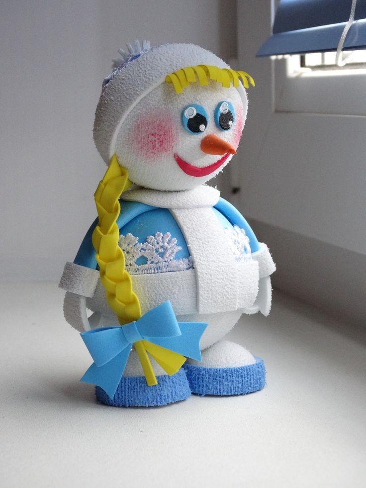 Снеговик-Снегурочка