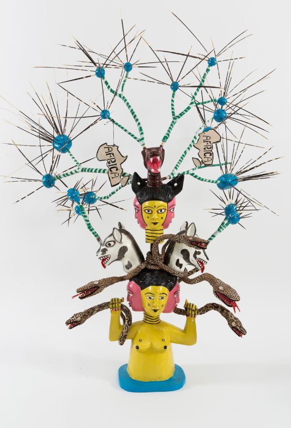 John Goba, The Missellinius Mask Head, 2015