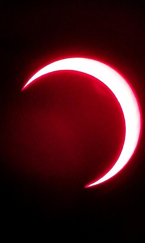Solar annular eclipse 2012 Kanarraville
