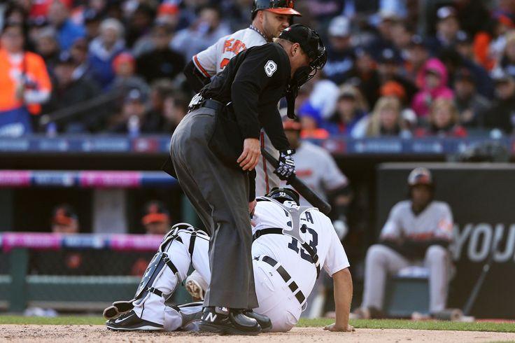 Alex Avila  Photos: Division Series - Baltimore Orioles v Detroit Tigers - Game Three