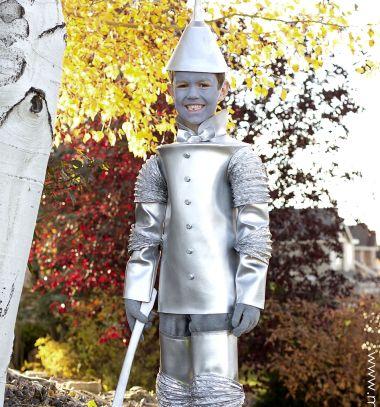 DIY Tin man costume for kids (The wizard of Oz) // Bádogember jelmez gyerekeknek (Óz, a csodák csodája) // Mindy - craft tutorial collection // #crafts #DIY #craftTutorial #tutorial