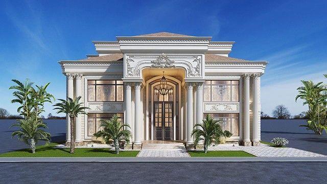 Luxury Antonovich Design Best Interior Design Company In Dubai Fit Out Interiordesigndubai Exterior Design Classic House Exterior Luxury Villa Design
