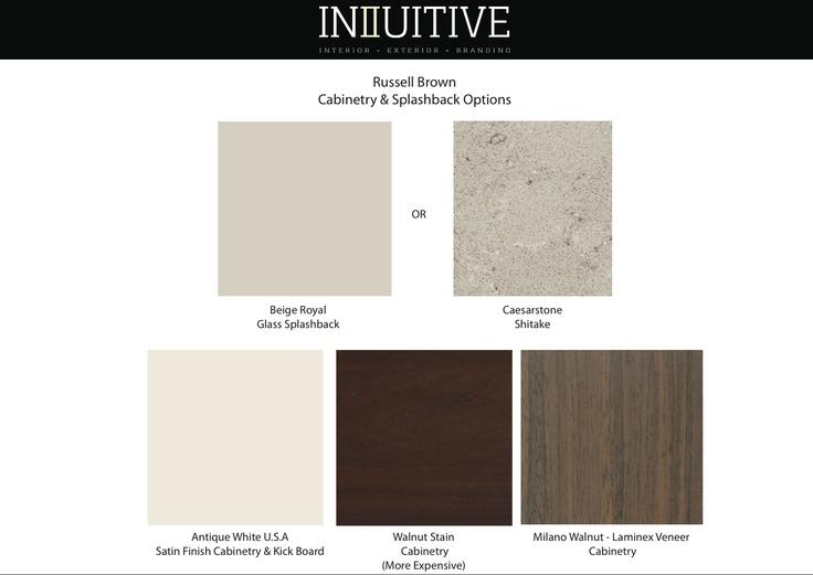 Kitchen Selections - Digital Sample Board