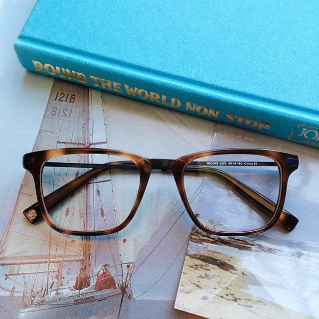 Brooks in Oak Barrel from our Spring 2015 Collection: http://warby.me/HnSYU