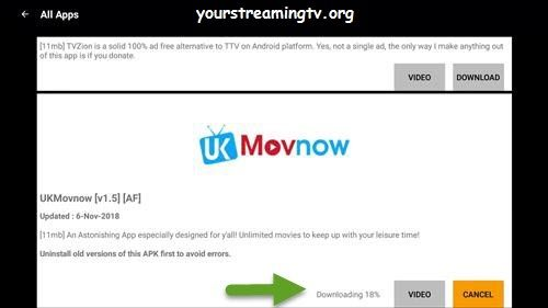 How To Install UK Movnow APK On FireStick & Fire TV & Fire