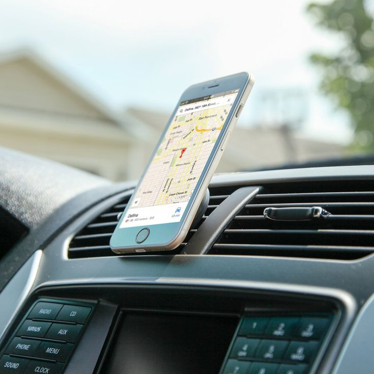 iTD Gear Air Vent Magnetic Universal Smartphone Car Mount Holder Review • Life in a House of Testosterone