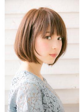 ナチュラルボブ★スタイリングも簡単【drive for garden/清水】 - 24時間いつでもWEB予約OK!ヘアスタイル10万点以上掲載!お気に入りの髪型、人気のヘアスタイルを探すならKirei Style[キレイスタイル]で。