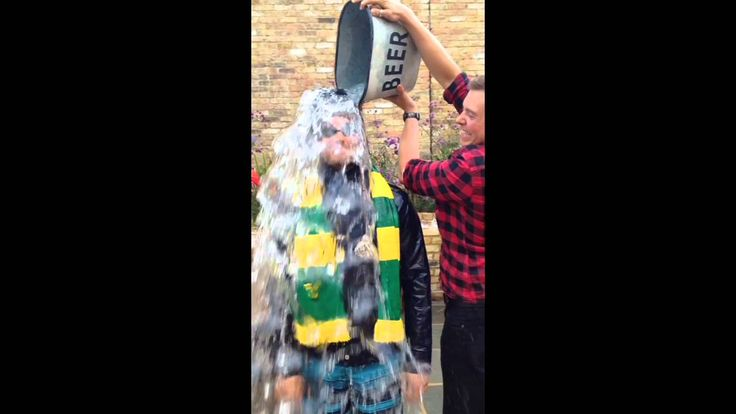 Sam Claflin ALS Ice Bucket Challenge