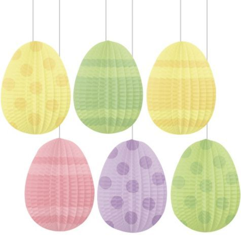 Honeycomb Easter Egg Decorations Party City