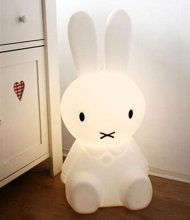Miffy lamp...so cute!