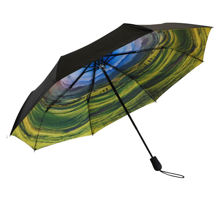 'Rolling Hills' Folding Umbrella | http://www.whereidratherbe.co.uk/products/rolling-hills-folding-umbrella