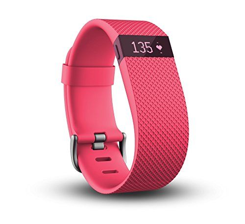 Fitbit Charge HR Wireless Activity Wristband Pink