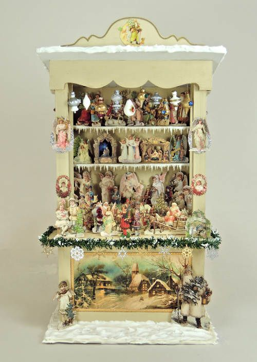 Victorian Market Kiosk Online Class and Kit [OC-CMK] : Cynthia Howe Miniatures!, Your premier source for Dollhouse Miniatures, Miniature Classes, Miniature Dolls and Molds, Kits and Free Tutorials.