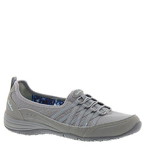 Skechers Unity Go Big Womens Slip On Sneakers Gray 10 >