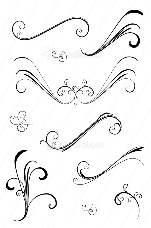 Images about vector swirls for t on pinterest