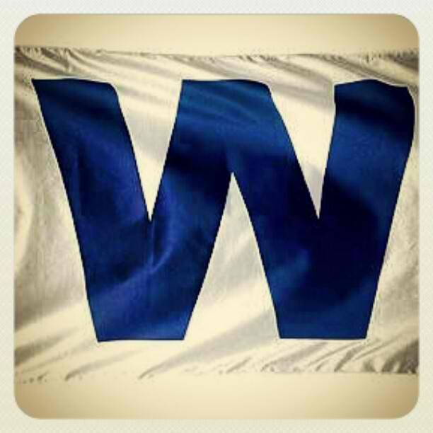 Can't wait to have a Cubs Win flag in my own house!