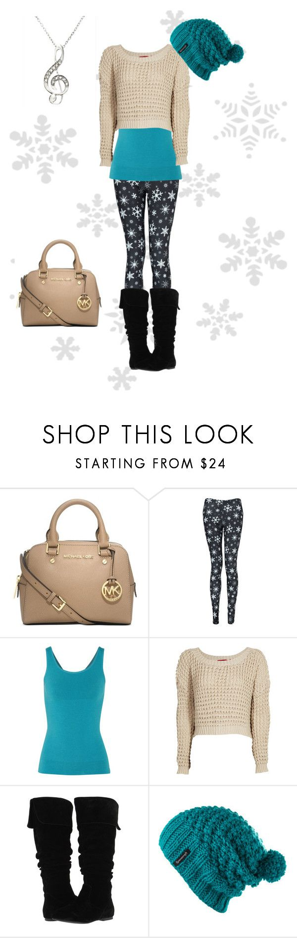 """""""Winter wonderland"""" by fiat-justitia ❤ liked on Polyvore featuring Michael Kors, Boohoo, Yummie by Heather Thomson, Gabriella Rocha and Spacecraft"""