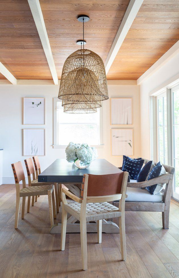 No Dining Room No Problem Create One With These Six Simple Tricks Hunker Lake House Dining Room Lake House Dining Dining Room Decor