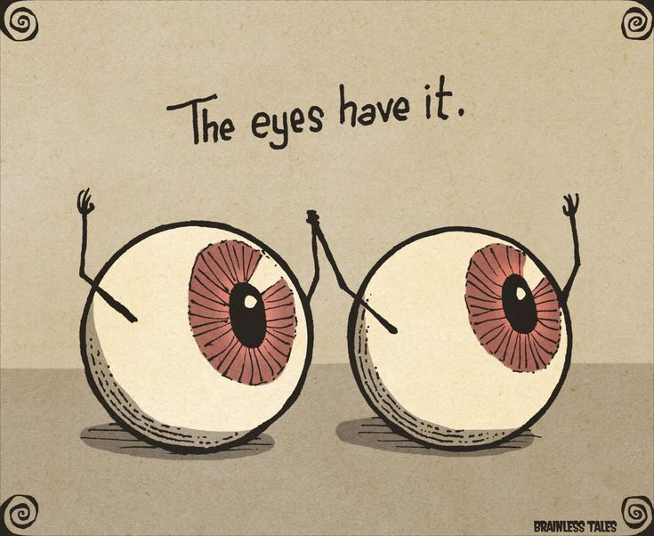 The Eyes Have It