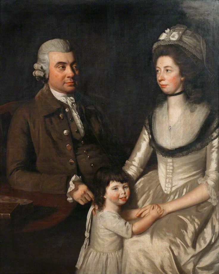 """The Gullett Family"", John Opie, ca. 1780; RIC TRURI : 1931.46"