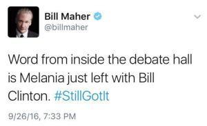 Funniest Presidential Debate Memes: Bill Maher on the Debate