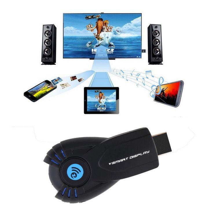 Высокой четкости USB iPush dlna-плеер Miracast дисплей Wifi микро-hdmi тв-ключ приемник беспроводной передатчик горячий новый