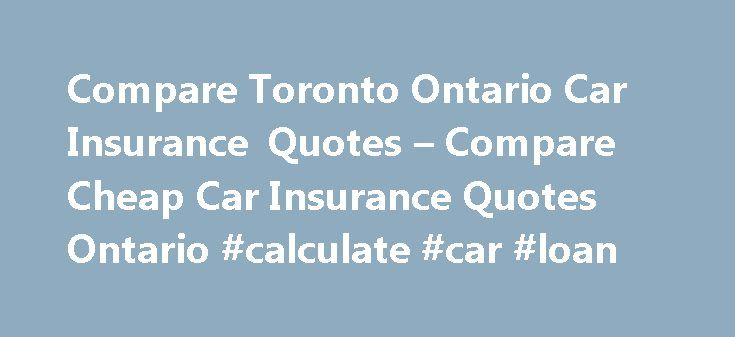 how to get cheap car insurance in toronto