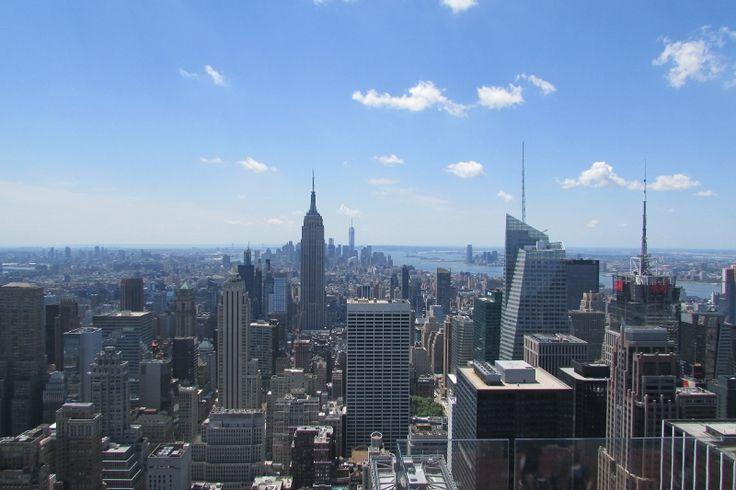 panorama dal top of the rock, #newyork #america http://www.blogfamily.it/26146_cara-new-york-quanto-mi-costi/
