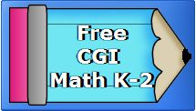 free CGI math problem sets for K-2, student and teacher pages