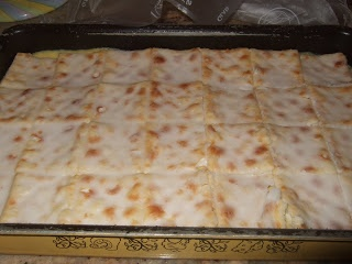 Vla skywe (Custard slices)