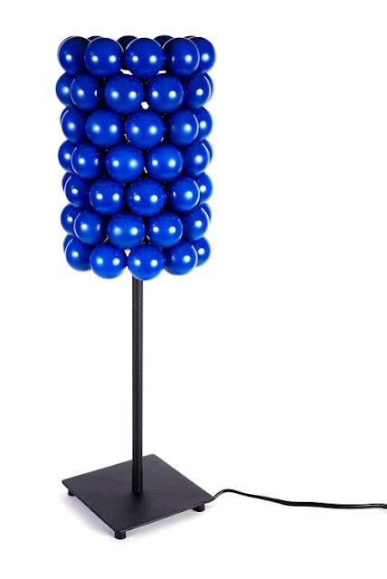 Ping-pong table lamp from Ikea Hacker. Love this site.