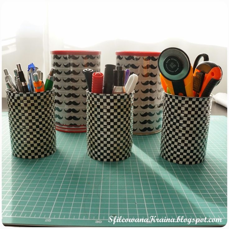 Tutorial - sewing corner, containers diy