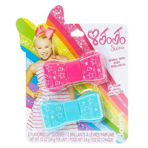 Claires : JoJo Siwa 2 Flavored Lip Gloss Bows