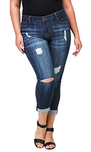 1cadd044 Women's Plus-Size Relaxed Fit Jeans | Hourglass Fashion Tips ...
