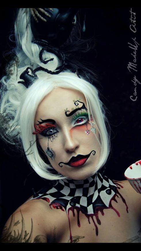 Halloween gezicht Paint