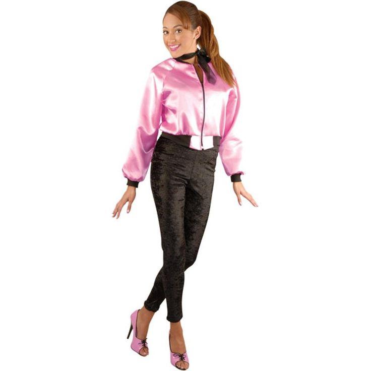Adult Satin Pink Lady's Jacket in 2019 | Pink Ladies ...