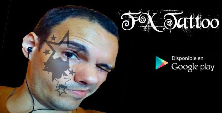 Hoy pruebo la aplicacíon para android FX Tattoo, la idea de FX Tattoo es ponerte directamente en la piel un tatuaje con solo el click de una fotografia, FX Tattoo esta muy chulo ya que vale para probar modelos de tatuajes o para dar el pego en tus perfiles con un tatuaje falso y quedarte con tus amigos.