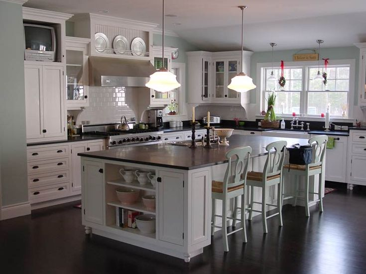 10 best images about black counter tops on pinterest for Custom cabinetry