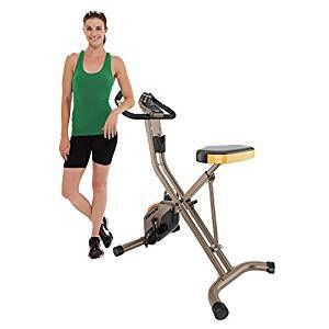 Exerpeutic 500 XLS Foldable Magnetic Upright Bike Review