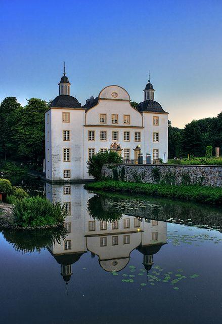 Essen -North Rhine, Germany   Schloss Borbeck 02 by Daniel Mennerich on Flickr.