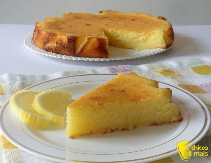 Torta al limone e ricotta che si scioglie in bocca il - Lemon cake and cottage cheese that melts in the mouth