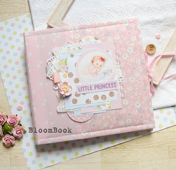 1ST CHRISTMAS PHOTO BOOK PERSONALISED BABY GIRLS// BOYS FIRST ALBUM SCRAPBOOK