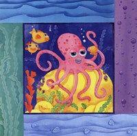 Seafriends-Octopus Fine-Art Print