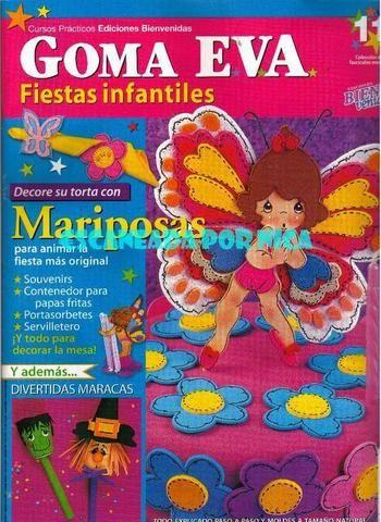 bienvenidas goma eva fiestas infantiles n11 - REVISTAS DIVERSAS - Picasa Web Albümleri